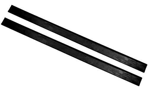2 Ersatzlippen Gummilippen Abziehlippen geeignet für Kärcher Akku Fenstersauger WV 1 WV 2 WV 3 WV 5 280 Millimeter