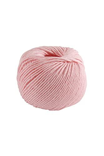 DMC - Fil Natura Médium - Pelote de fil à tricoter et à crocheter   100% coton - Idéal pour les vêtements   50 g - 75 m   27 coloris