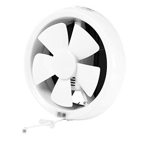 Extractor De Baño, Extractor de baño Ventilador, extractor de cocina Ventilador para baño/casero/de cocina Ventana de pared Fuerte ventilador de ventilación de silencio (Tamaño: 8 pulgadas)