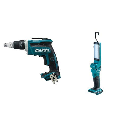Makita DFS452Z power screwdriver + Makita DEADML801 luz de trabajo