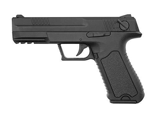 Pistola Airsoft G18 Custom Cyma-CM127S / Plástico de Alta Resistencia y Metal/Color Negro/Eléctrico (0,5 Julios) / Semiautomático/Lipo-Mossfet
