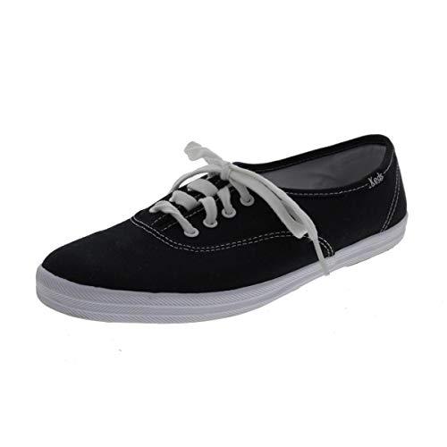 Keds Damen CHAMPION CVO CORE CANVAS Sneakers, Schwarz (Black), 40.5 EU
