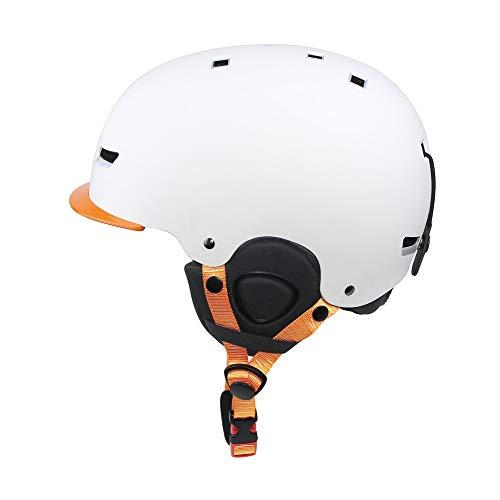 PHZ. Casco de Deportes de Nieve para niños y Adultos, Certificado CPSC para esquí, patineta, Protector