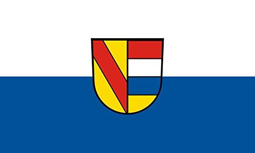 Unbekannt magFlags Tisch-Fahne/Tisch-Flagge: Pforzheim 15x25cm inkl. Tisch-Ständer