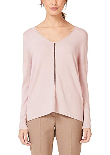s.Oliver BLACK LABEL Damen 11.910.61.6459 Pullover, Rosa (Light Dust 4135), (Herstellergröße: 38)