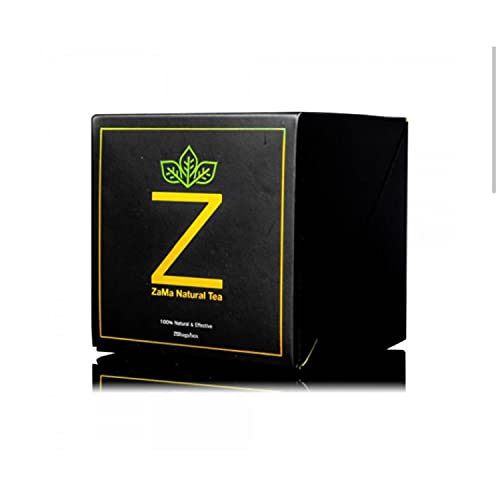 ZAMA Natural Tea Bags Slim Tea for Lose Weight 20 Tea Bags/Box Detox Tea for WeightLoss and Belly Fat - Everyday Detox tea 100% Natural Ingredient Tea for Men and Women