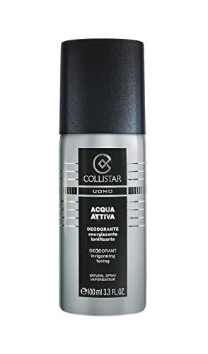 Collistar Uomo Acqua Attiva Deodorante Energizzante Tonificante Spray - 100 ml.