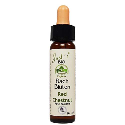Red Chestnut Nr. 25 Just´s Original englische BIO Bachblüten Rote Kastanie Blütentherapie für Mensch und Tier …