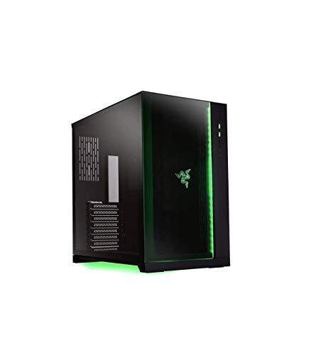 LIAN LI PC-O11 Dynamic Razer Edition Black Tempered glass ATX Mid Tower Gaming Computer Case - PC-O11D Razer
