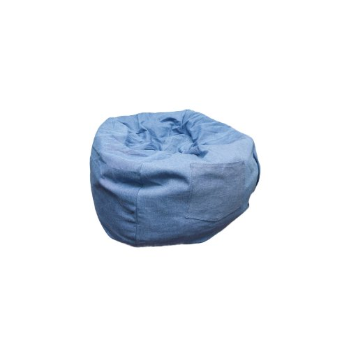 Fun Furnishings Beanbag, Small, Denim