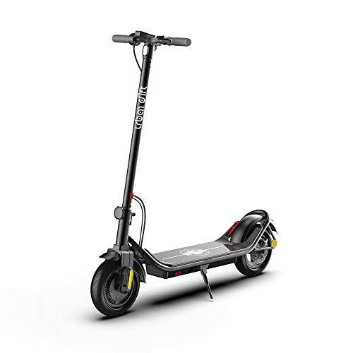 Urban Drift S006 Electric Scooter for Adults & Teens 350w Motor Dual Brake 10-inch Air Filled Tires 21.7 Miles 36v Long Range Battery Adult Fast Portable Electric Kick Scooter for Commute [Black]