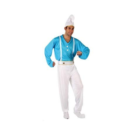 DISFRACES GILMAR Disfraz de Enanito azul Adulto - M/L