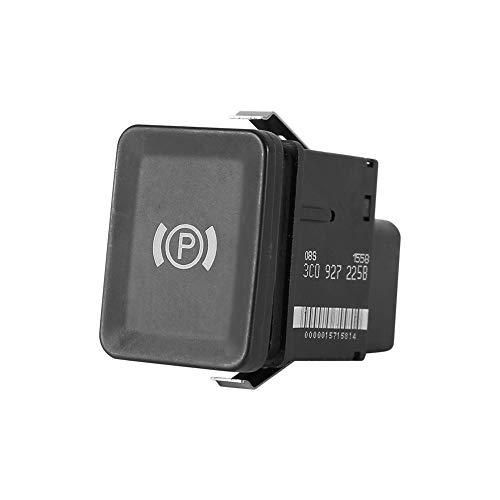 1pc EPB electrónica del Freno de Mano del Interruptor del Freno de estacionamiento botón en Forma for el reemplazo de VW Passat B6 C6 CC G1CG Auto Parts Freno de Mano Interruptor de botón