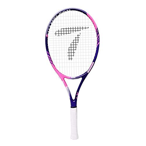 Raquetas De Tenis Individual Estudiantes Principiantes Tenis con Cuerda Tenis All Carbon One Tenis con (Color : Purple, Size : 68.5cm)