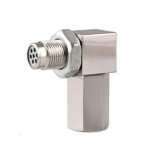 90 Degree Oxygen Sensor Catalytic Converter M18 x 1.5 Stainless Oxygen sensor Mini Socket