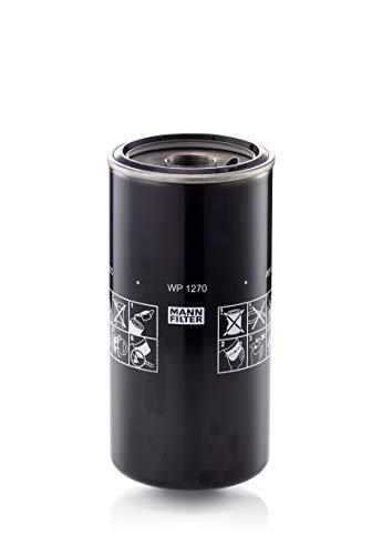 Original MANN-FILTER Filtre à huile WP 1270 – Pour véhicules particuliers et Véhicules utilitaires