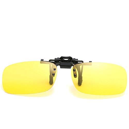 des Lunettes de Soleil Sunglasses Polarized Driving Sunglasses Clip Men Designer Sun Glasses Lens Night Vision Retro Outdoor C2Nightvision