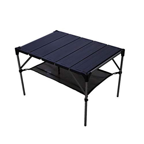 JKL-Bases de portátiles Juego de maletín plegable portátil para mesa de picnic...