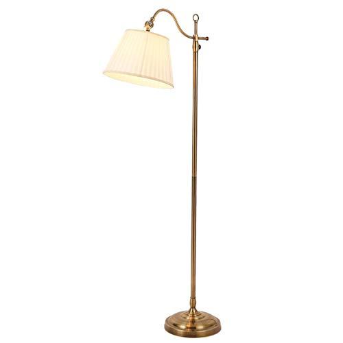Wvfguj - Lámpara de pie de lámpara de pie retro para estudio de noche o dormitorio, lámpara de lectura LED creativa vertical, lámpara de pie