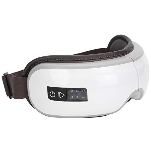 Massaggiatore per Occhi con Calore Maschera per Massaggio Agli Occhi Compressa Ricaricabile Massaggiatore per Occhi Riscaldato Bluetooth per Rilassarsi Affaticamento...