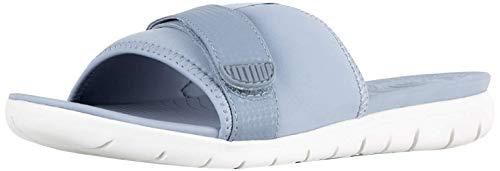 FitFlop Womens Neoflex Neoprene Slide Sandal Shoes, Indian Blue, US 11