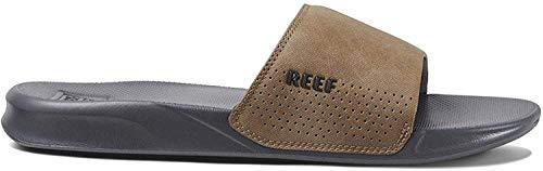 Reef One Slide, Sandalias deslizantes para Hombre, Grey Tan, 42 EU