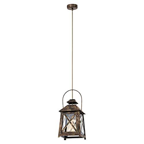 Eglo 49347–Lámpara de techo, plata