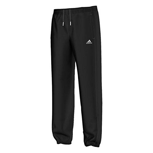 Adidas Essentials Pantalon Homme, Noir/Blanc, FR : S/S (Taille Fabricant : S-S)