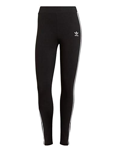adidas 3 STR Tight Leggings, Black, 48 para Mujer