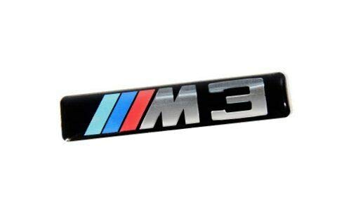 E46 Wing Fender Grille M3 Emblem Badge Logoschild 51137893023 7893023 Neu Original