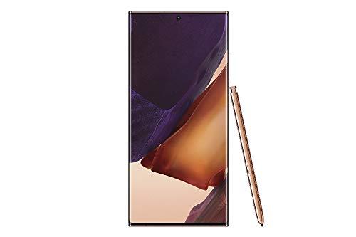 """Samsung Galaxy Note 20 Ultra 5G (SM-N986BD) Dual SIM / 256GB+12GB RAM / 6.9""""/ 5G対応 / SIMフリー スマートフォン, Exynos 990 (Mystic Bronze/ブロンズ)"""