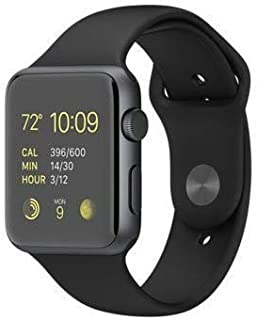 Rockwill Smart Watch A1 Bluetooth Smartwatch Compatible with All Mobile Phones for Boys and Girls (Black)