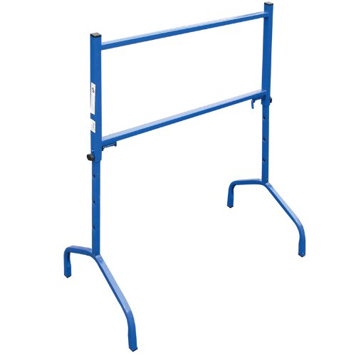 pro-bau-tec 2 Stück Gerüstbock, höhenverstellbar, 175 kg, blau, 2x10012