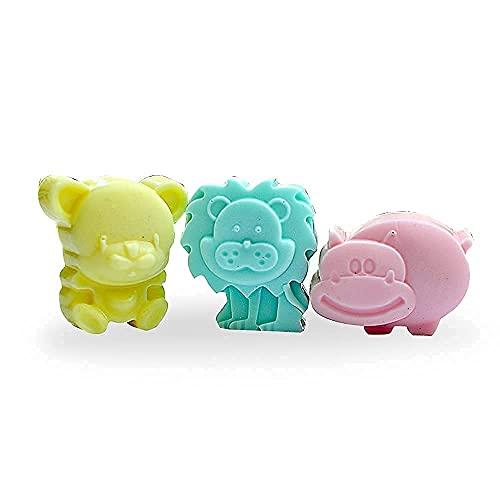The Bath Stories Handmade Kids Toys Bath Soaps Pure Organic Goat Milk 90 gms.X3 (Pack of 3)