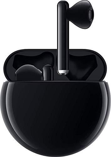 HUAWEI FreeBuds 3 kabellose Kopfhörer mit aktiver Geräuschunterdrückung (Kirin A1 Chip, geringe Latenz, ultraschnelle Bluetooth-Verbindung, 14mm Lautsprecher, kabelloses Aufladen) + Gutschein, schwarz - 5