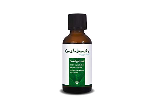 Bushlands essentials naturreines ätherisches Eukalyptusöl (eucalyptus radiata australiana) 50 ml