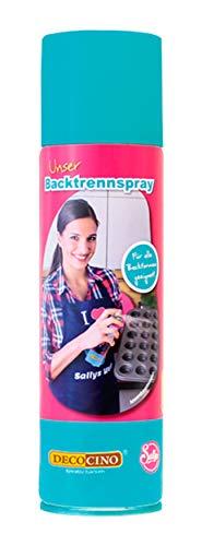 DECOCINO Backtrennspray – 200 ml – pflanzliches Backspray zum Einsprühen & Einfetten von Backformen, Silikonformen, Waffeleisen, Sandwich-Makern uvm. – ohne Palmöl & 100% vegan