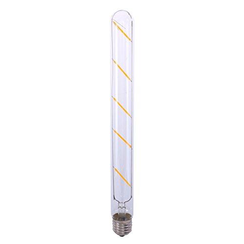 LEDMOMO LED Lampe Eldison Vintage Industrie E27 5W T300 Reagenzglas Flötenrohr Glühlampe Warmweiß Lampe Tube Atmosphäre Hängelampe Deckenlampe Leuchtmittel