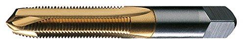 Greenfield Threading 357047 GT/VTD 1/4-20NC SPGP H3 2F GP Plug Spiral Point Tap, TiN