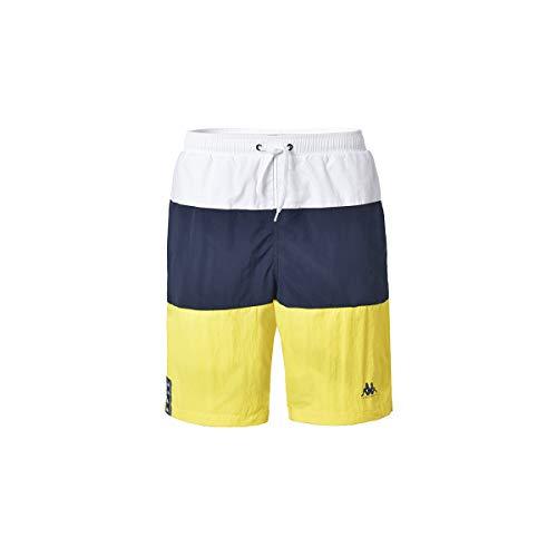 Kappa IBANO zwembroek, heren, wit-blauw-marineblauw, 8Y