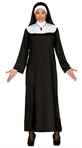 FIESTAS GUIRCA Disfraz Monja Mujer Talla l