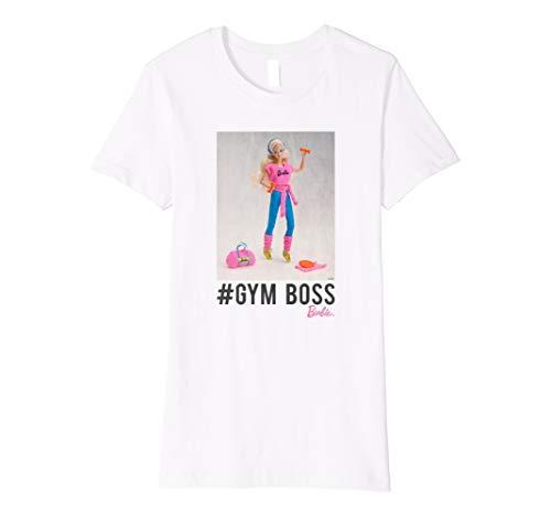 Damen Barbie T-Shirt, Gym Boss, viele Größen+Farben