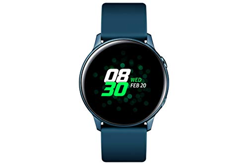 Samsung Galaxy Watch Active, Bluetooth Fitnessarmband Für Android, Fitness-Tracker, 40 mm,wassergeschützt , Grün (Deutche Version)