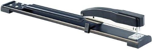 General Office Langhefter: Langarm-Heftgerät für 50 Blatt, bis DIN A3, Einlegetiefe bis 31,75 cm (Langarmtacker)