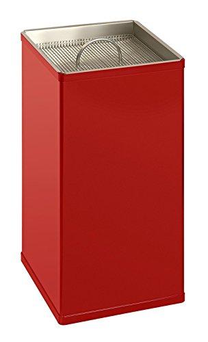 Carré de sable Cendrier en 2 couleurs assorties Rot