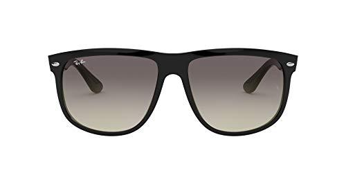 Ray-Ban - Lunette de soleil Rb4147 Rectangulaire - Homme, Black frame/ Grey Gradient Lens