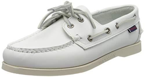 Sebago Damen Docksides Portland W Bootschuhe, Weiß (White 911), 40.5 EU