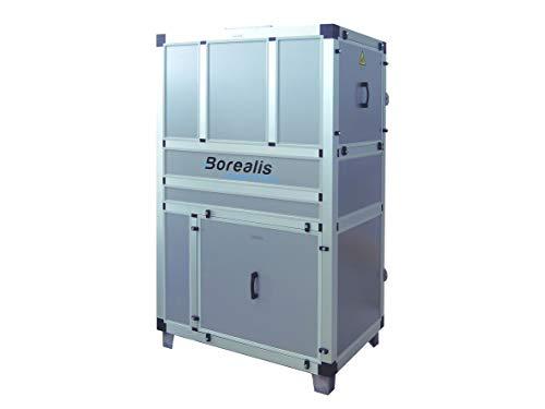 Bomba de calor deshumectadora de 4 a 28 kg/h de capacidad - Deshumidificadora para piscina cubierta de tamaño pequeño/mediano (HV-9 / HS-9)