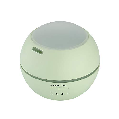 LYF 150Ml Essential Atmospheric Oil Diffuser Ultrasonic Portable Aroma Aromatherapy Humidifier Automatic Water Shut Off For Yoga Spa Home Bedroom Office,Green