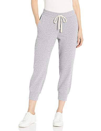 Amazon Essentials French Terry Capri - Pantalón de Chándal - Athletic-Pants Mujer